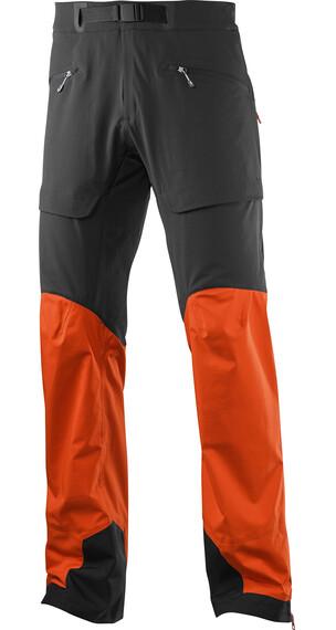 Salomon M's X Alp Hybrid Pant Vivid Orange/Black